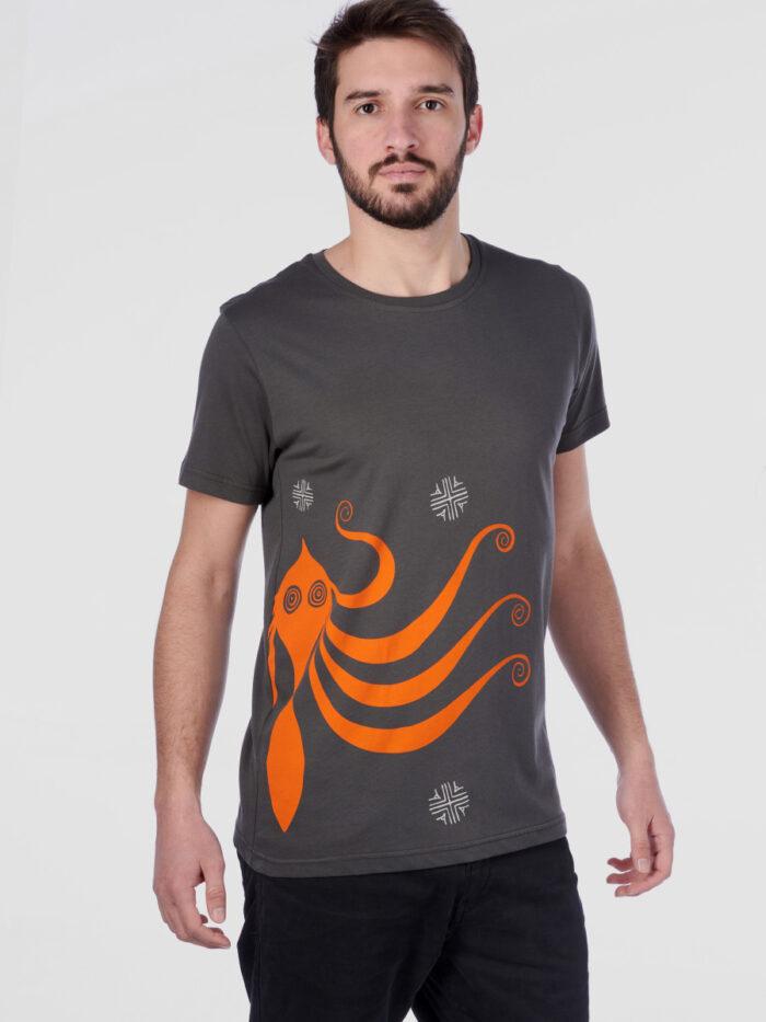 mens_t-shirt_octopus_II_dark-grey_front_inspira