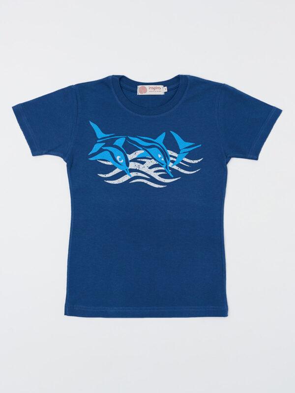 kids_t-shirt_dolphins_indigo-blue_inspira