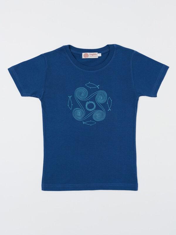 kids_t-shirt_eternal-spiral_indigo-blue_inspira