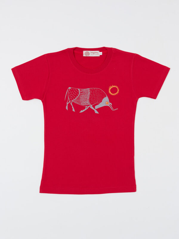 kids_t-shirt_sun-salutation_red_inspira