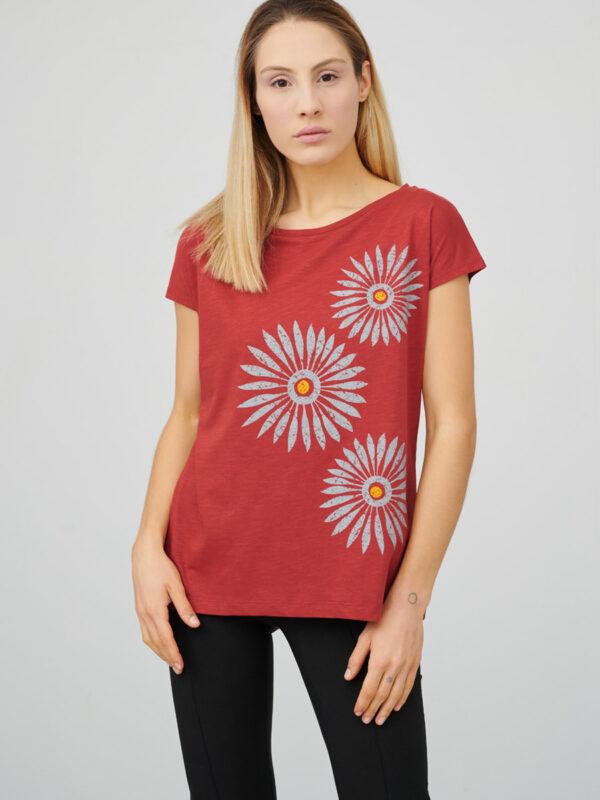 womens_cap-sleeve-top_rosettes_firebrick-red_front_inspira