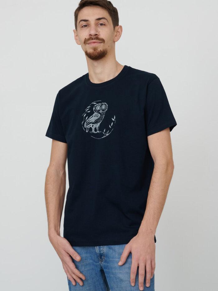 mens_t-shirt_wisdom_navy-blue_front_inspira